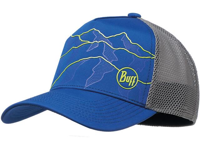 Buff Trucker Tech Pet, solid cape blue